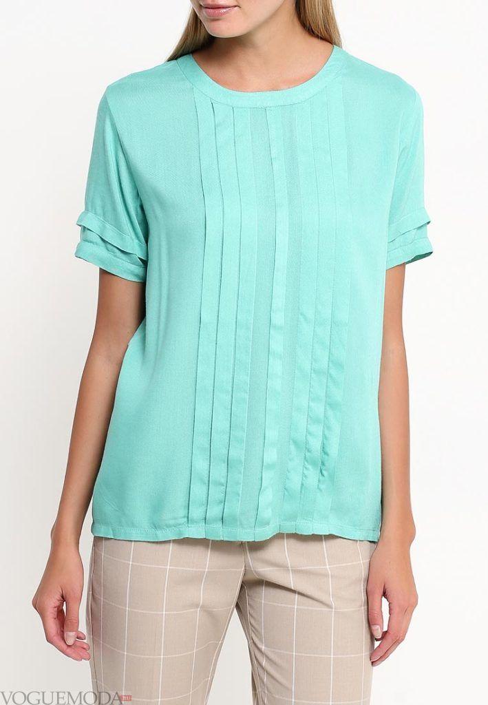 блузка мята