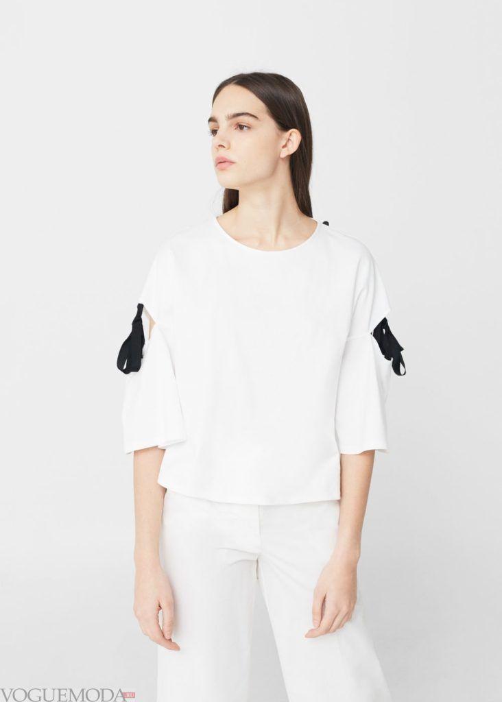 блузка с бантиками