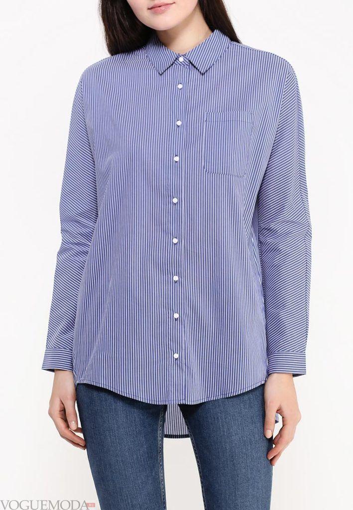 блузка унисекс в полоску