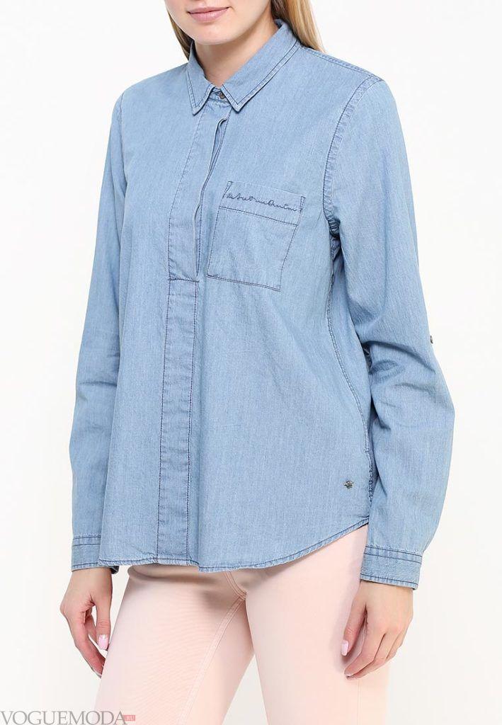 блузка унисекс джинс