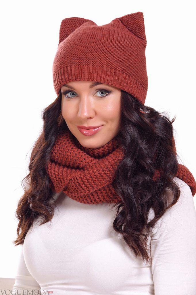 Головные уборы осень зима 2020 2021: модная шапка с ушками