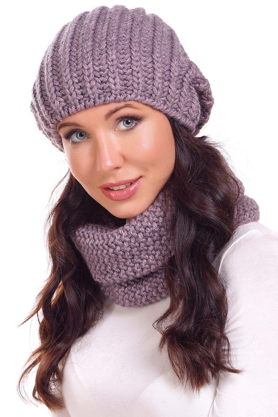 b0e8d10916b Головные уборы осень зима 2019 2020  модная шапка вязаная