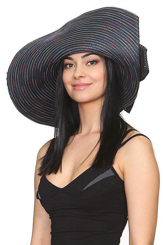 широкополая шляпа темная