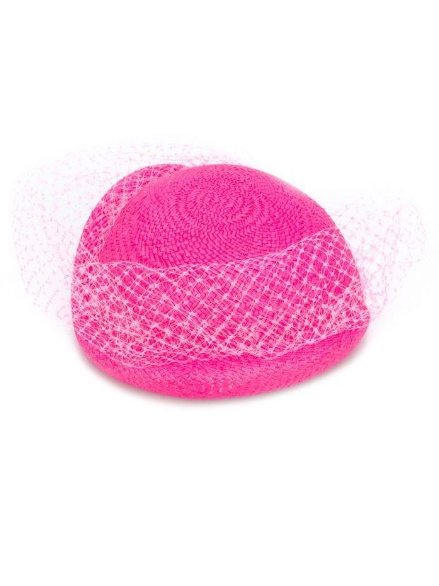 жокейский котелок розовый