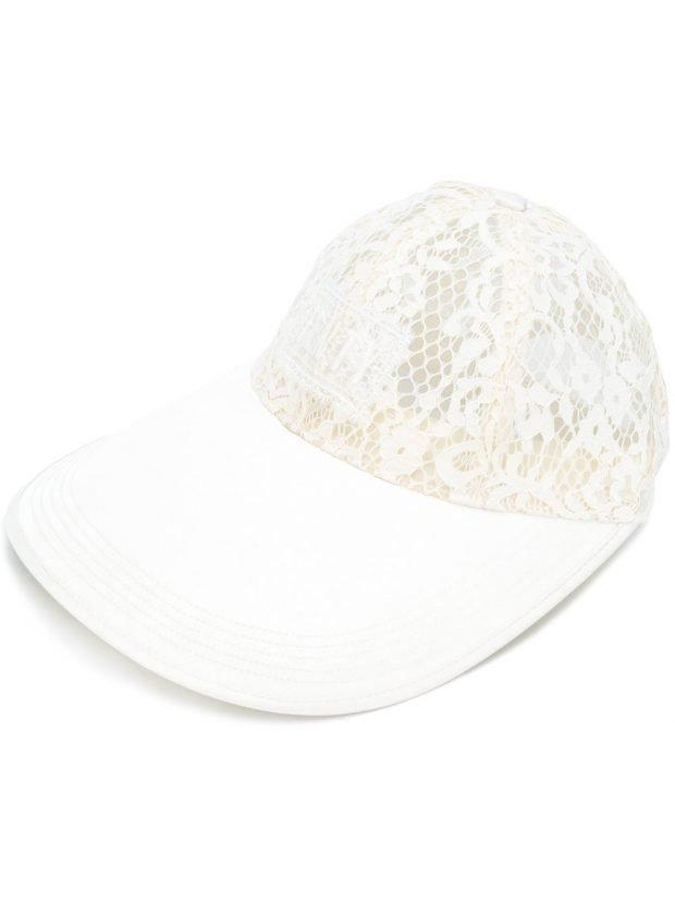 кепка белая