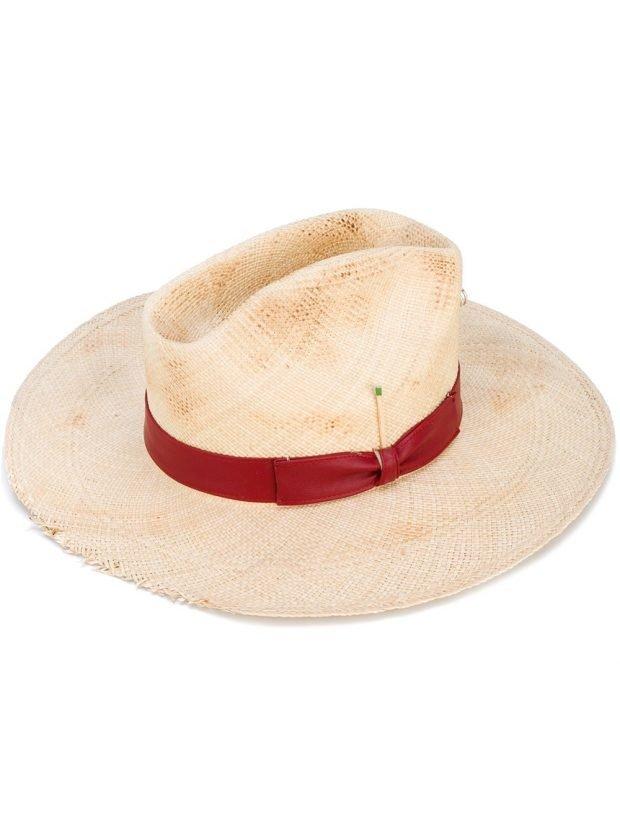 ковбойская шляпа бежевая