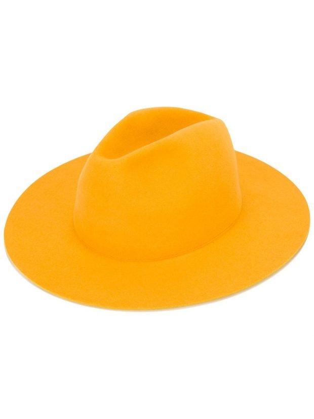 ковбойская шляпа желтая