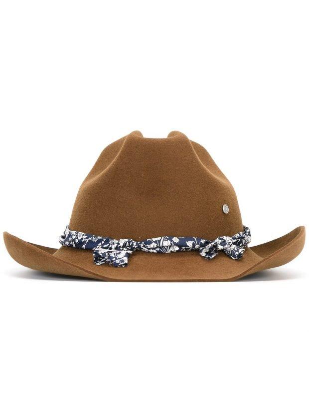ковбойская шляпа мокко
