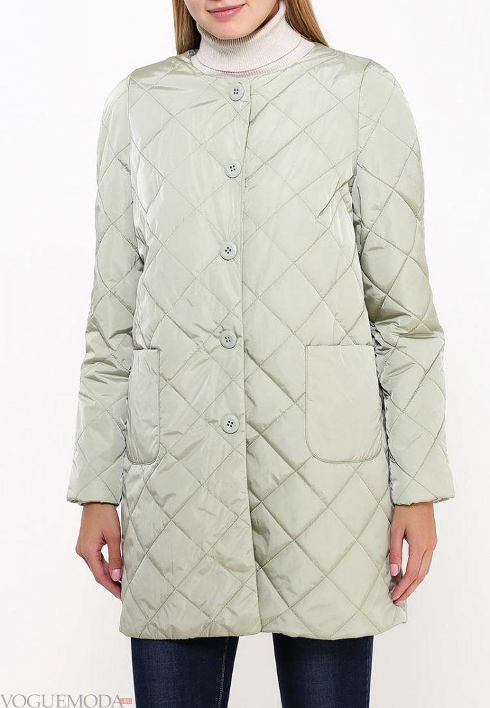 стеганая куртка пиджак