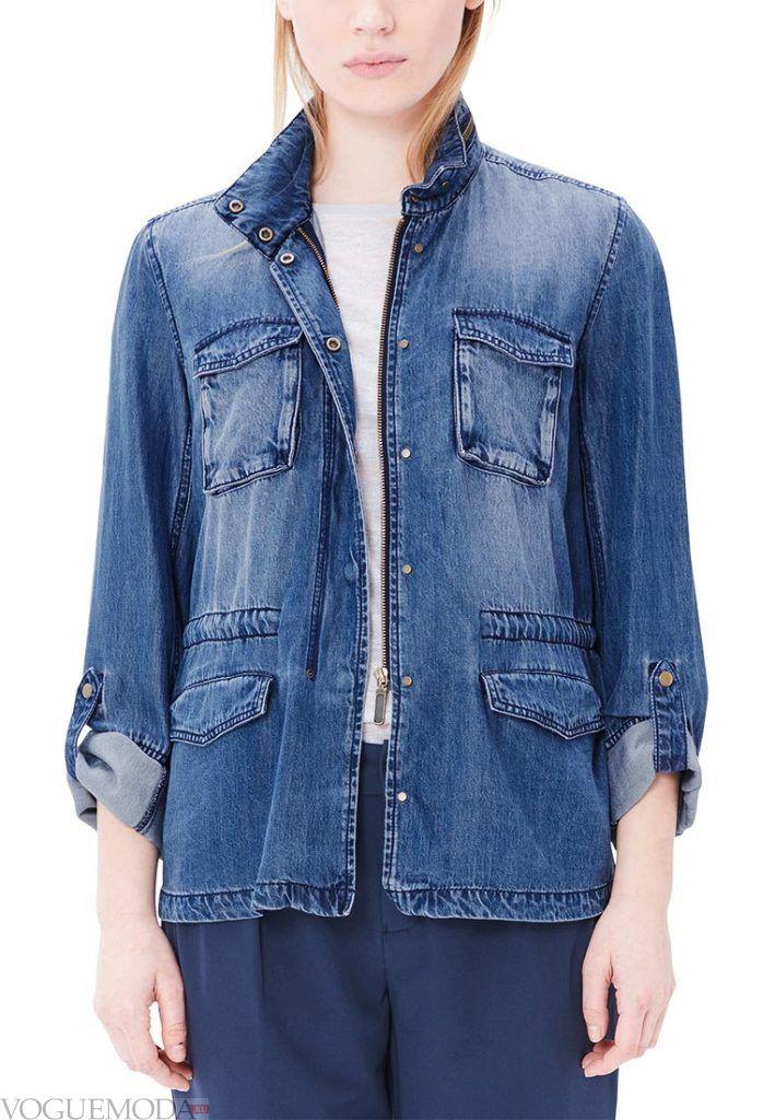 куртка пиджак джинсовая