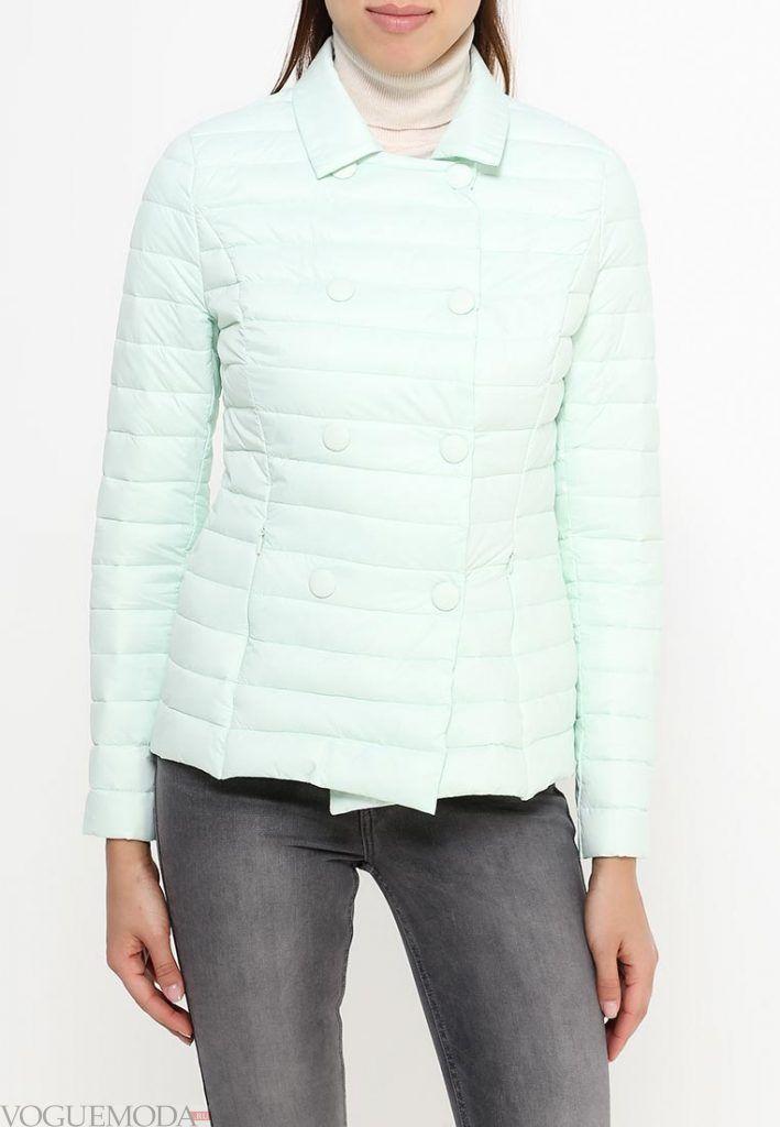 куртка пиджак голубая