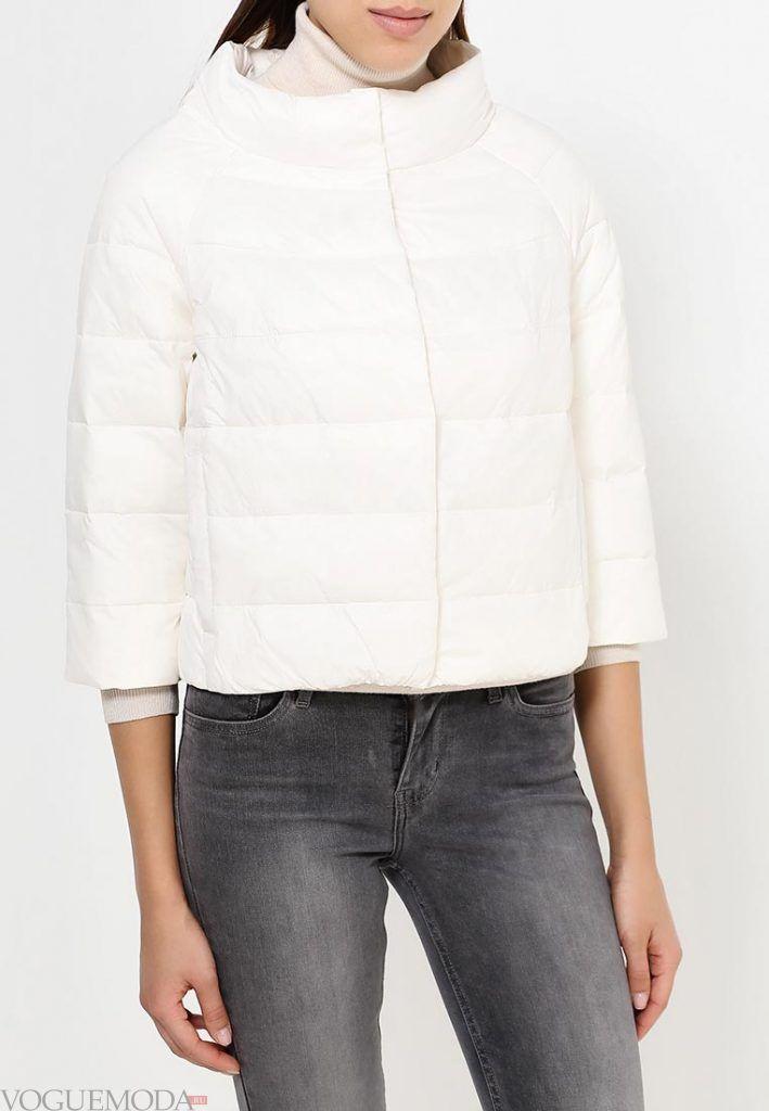 куртка пиджак белая