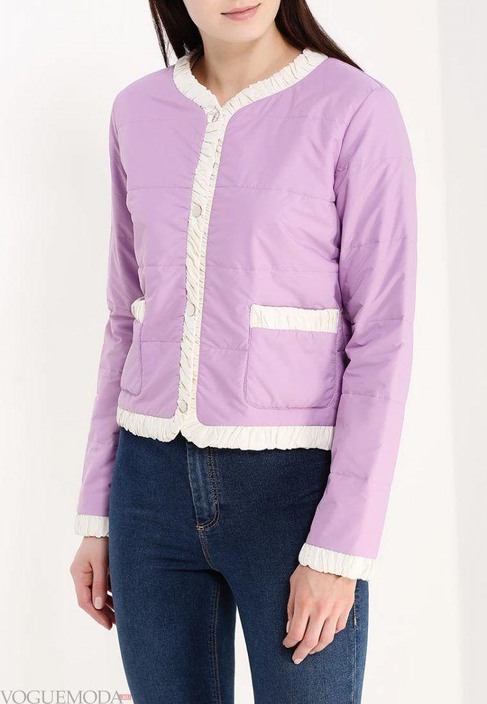 куртка пиджак фиолетовая