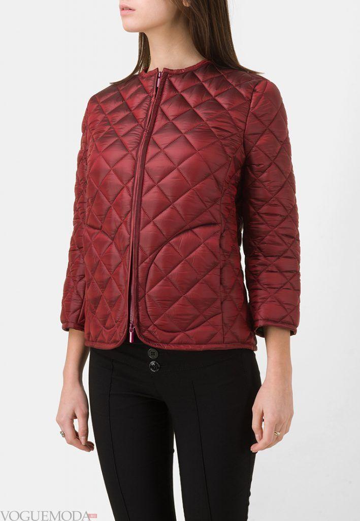 куртка пиджак бордовая