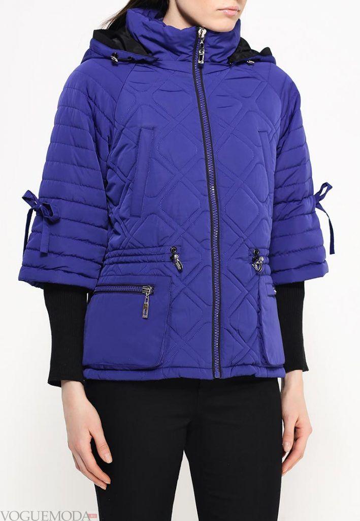 куртка осень зима яркая