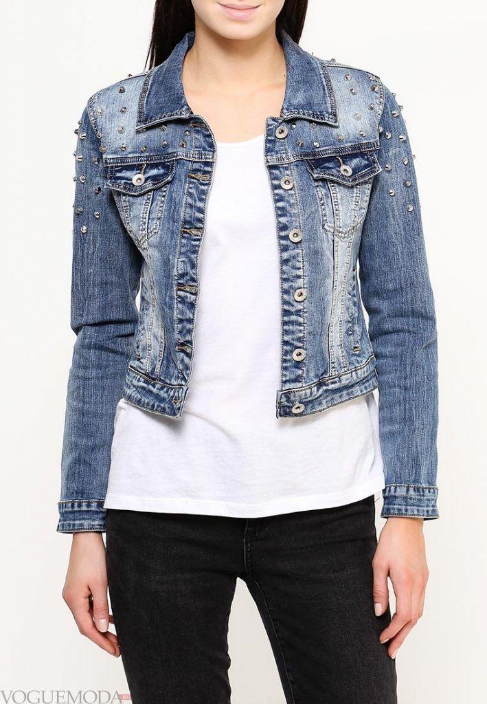 куртка осень зима джинсовая