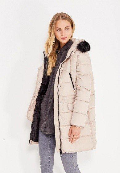 куртка пуховик с мехом