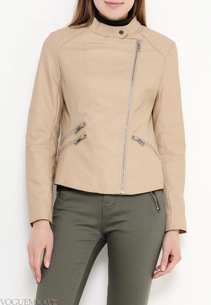 куртка косуха беж