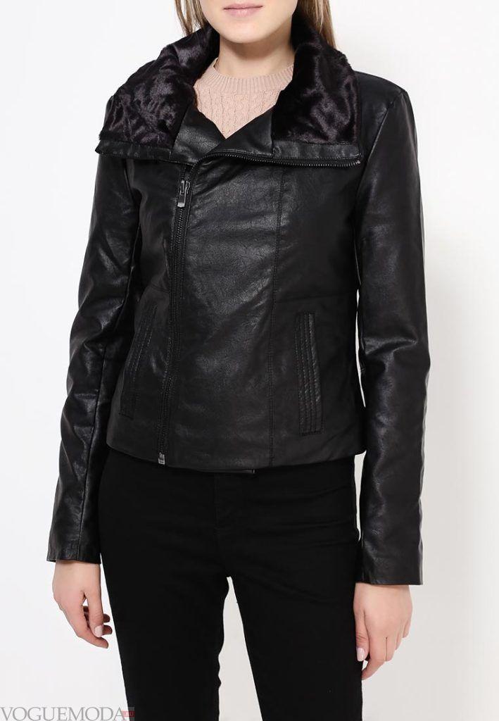 куртка косуха с мехом