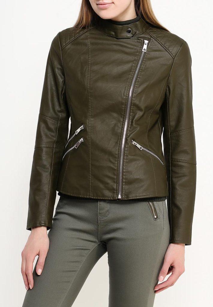 куртки косухи: оливкового цвета