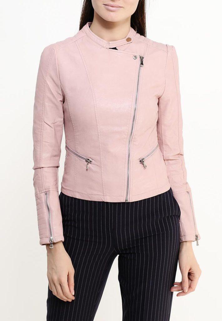 куртка косуха чайная роза