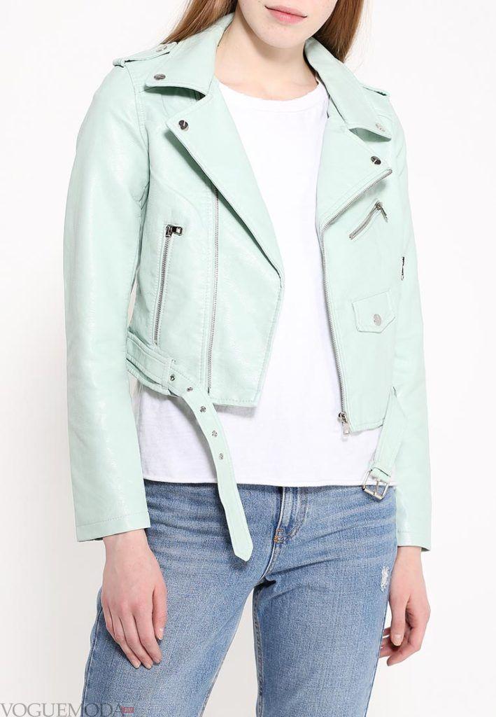куртка косуха с поясом
