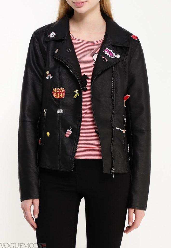 куртка косуха и изображением