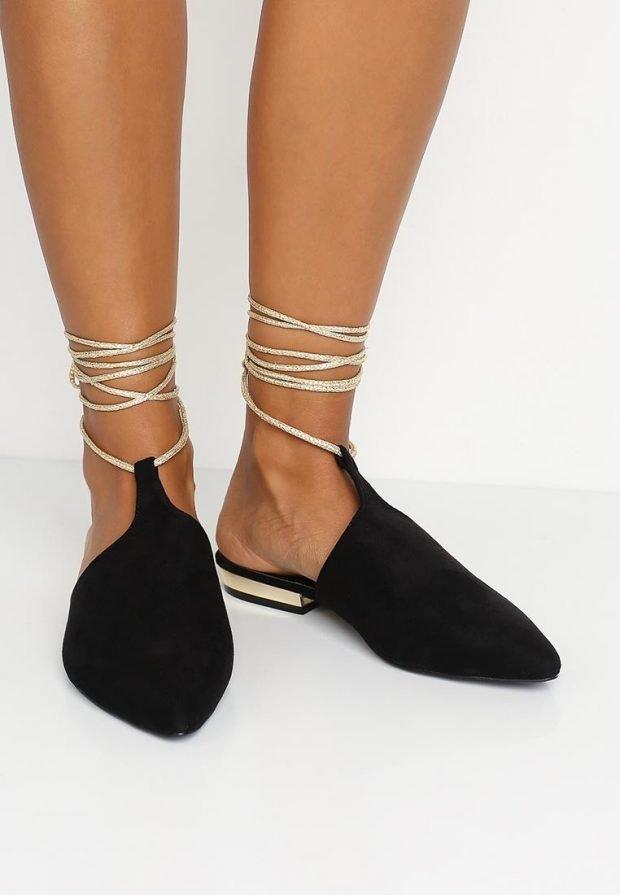летние туфли черные
