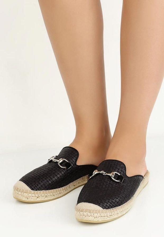 летняя обувь черная