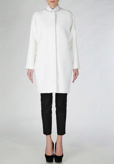 пальто для беременных белое