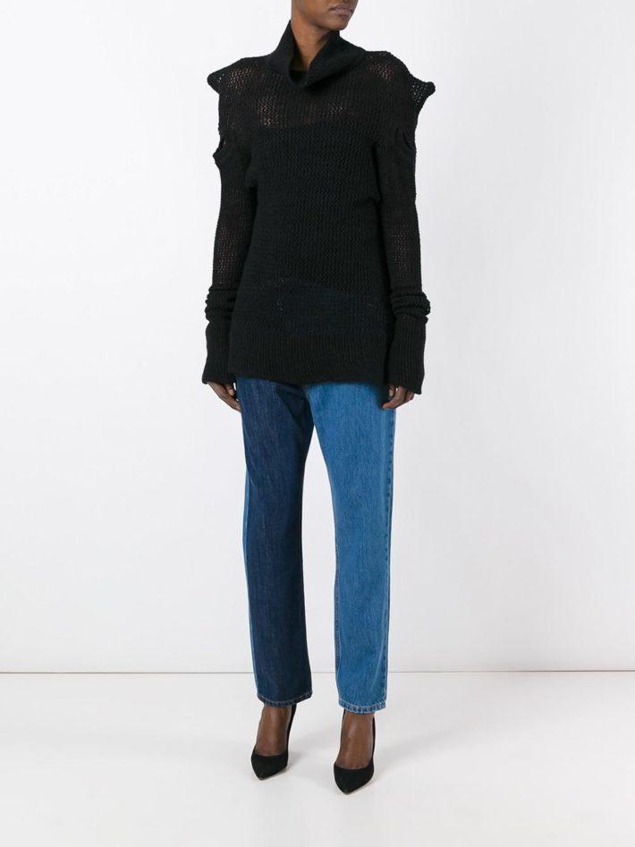 Модные тенденции осень зима 2020 2021: джинсы синие