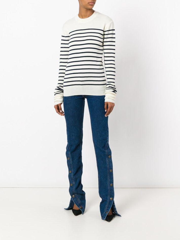 Модные тенденции осень зима 2020 2021: джинсы прямые