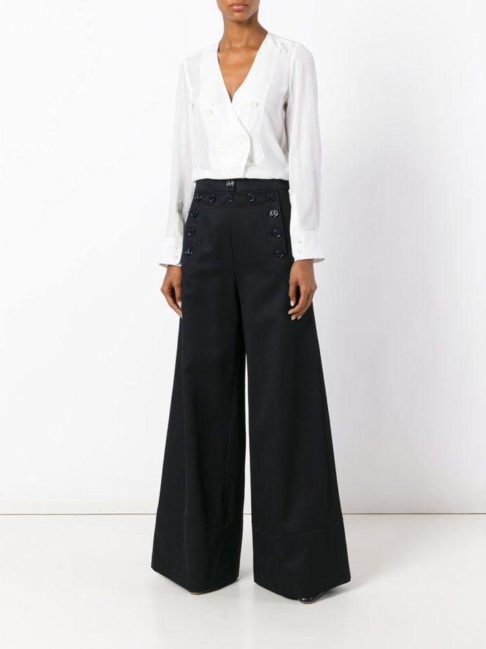 Модные тенденции осень зима 2019 2020: брюки клеш