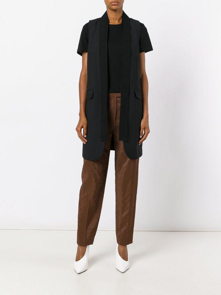 Модные тенденции осень зима 2019 2020: брюки коричневые