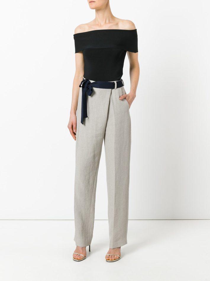 Модные тенденции осень зима 2019 2020: брюки серые