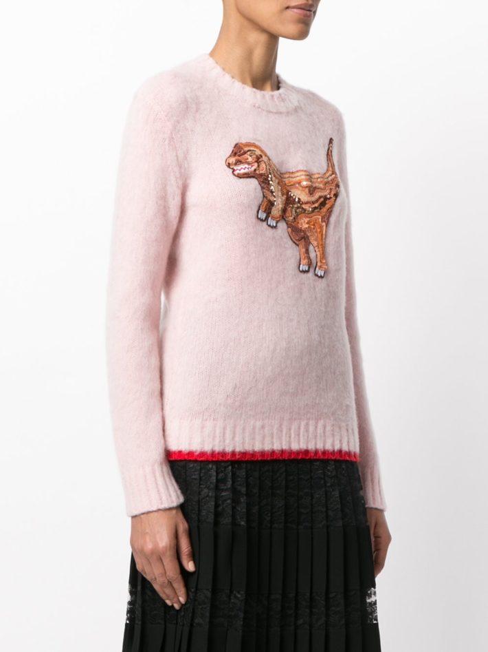 свитер с рисунком