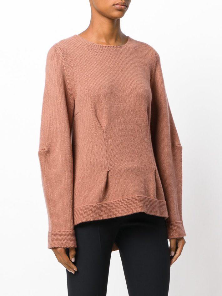 свитер нюдовый