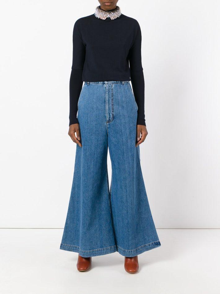 Модные тенденции осень зима 2019 2020: джинсы светлые