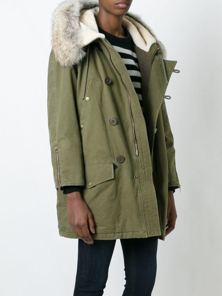 Модные тенденции осень зима 2020: парка зеленая