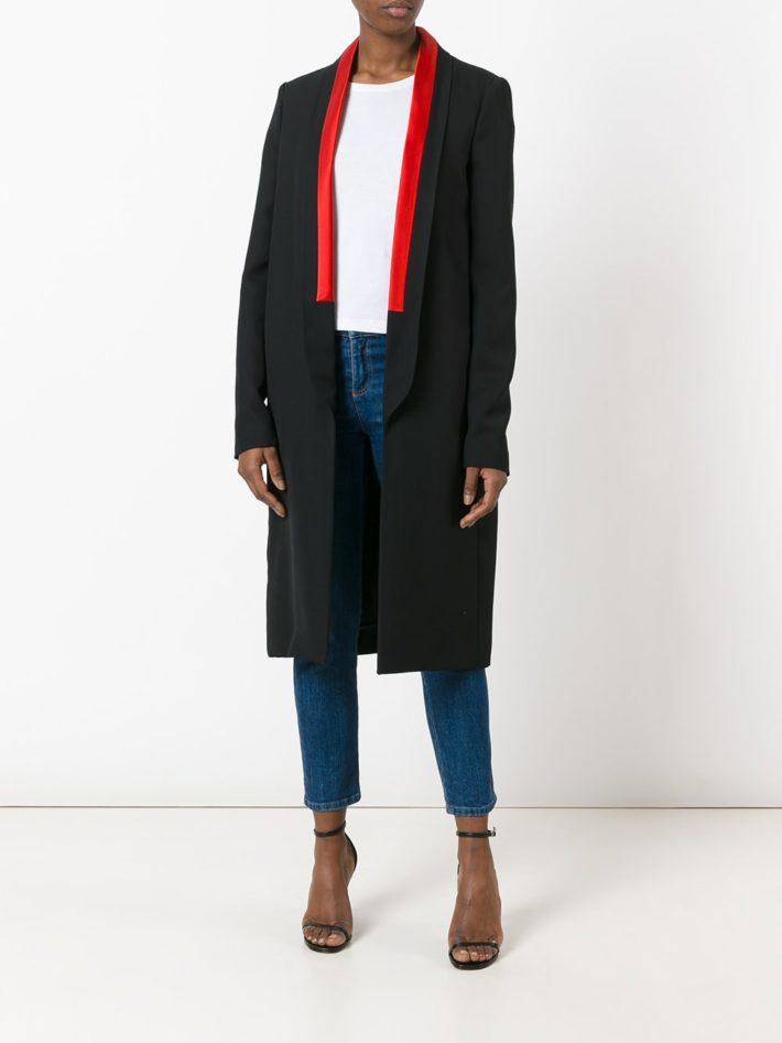 Модные тенденции осень зима 2020 2021: пальто смокинг