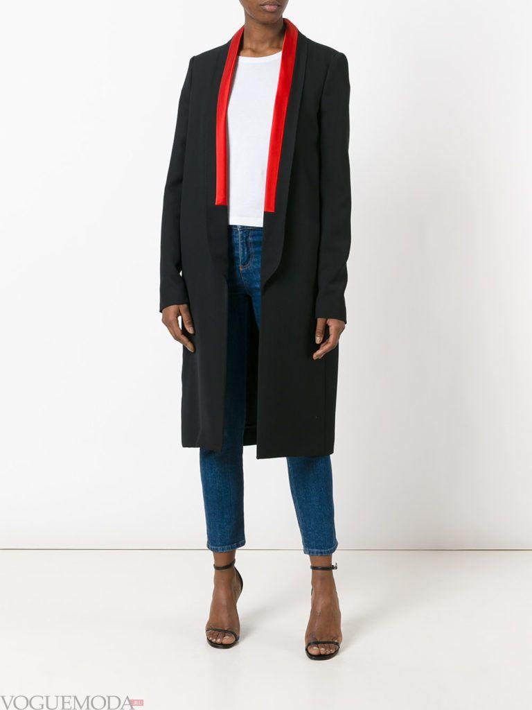 пальто смокинг