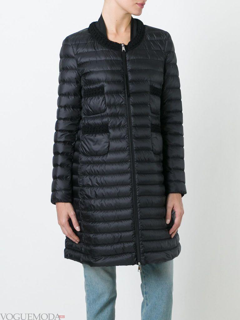модная куртка черная