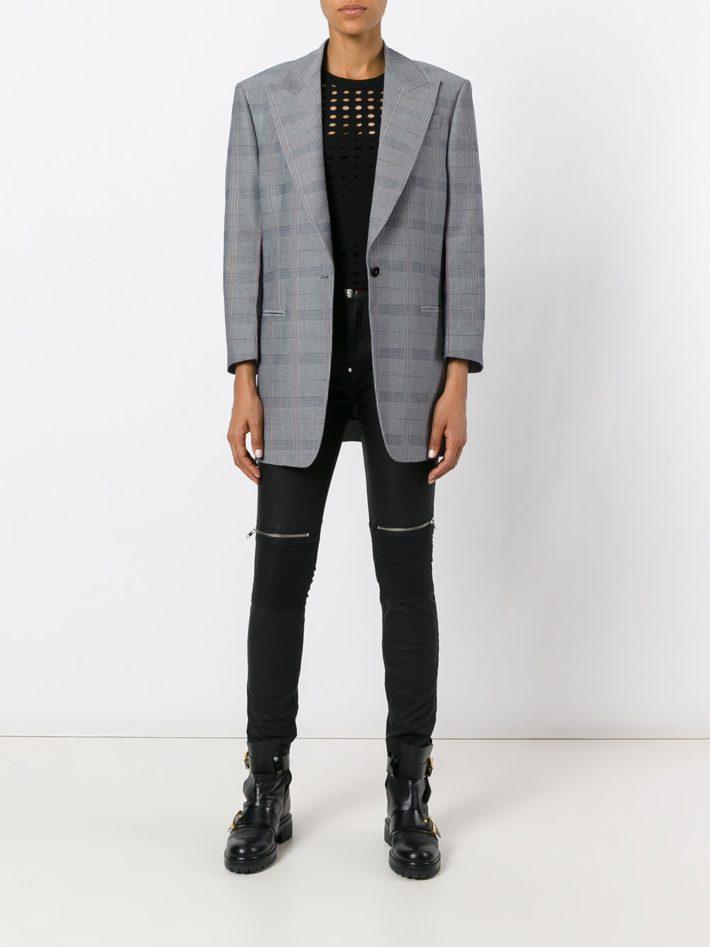 Модные тенденции осень зима 2019 2020: джинсы черные