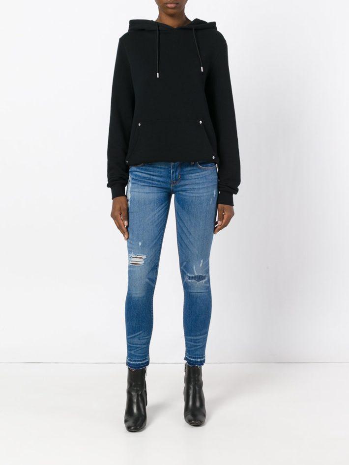 Модные тенденции осень зима 2019 2020: джинсы с разрезом
