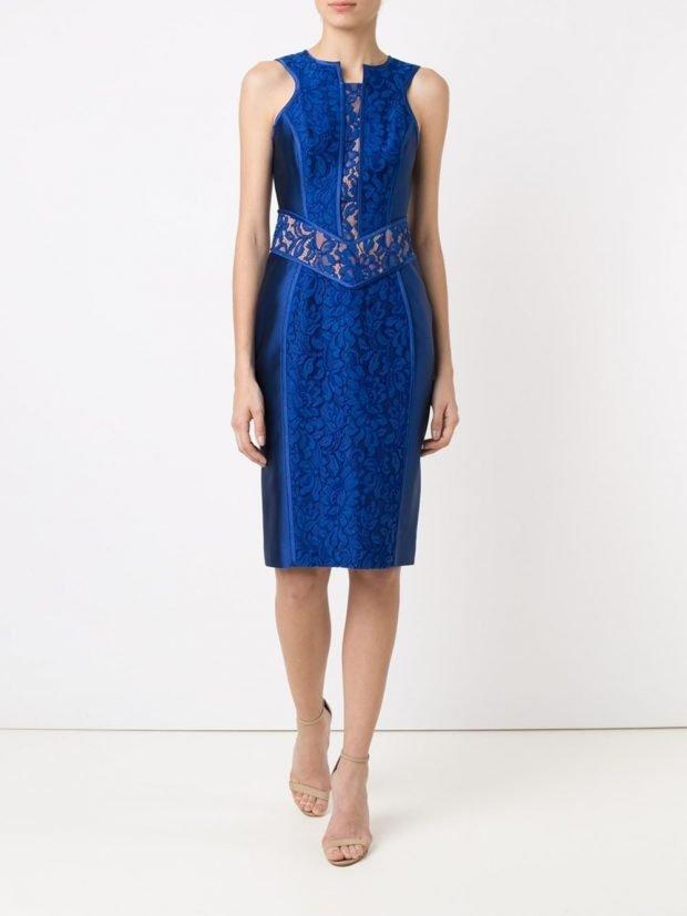 Модные вечерние платья: яркое