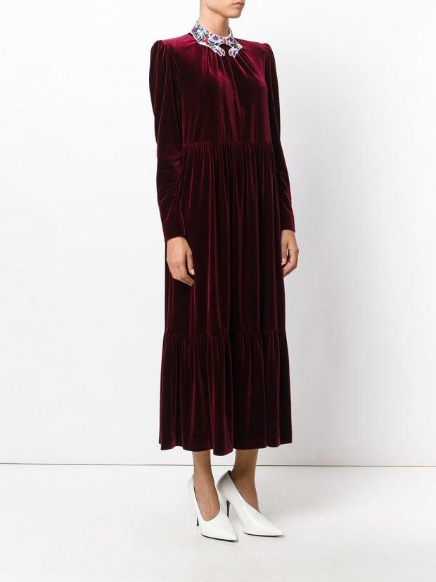 Модные вечерние платья: темное