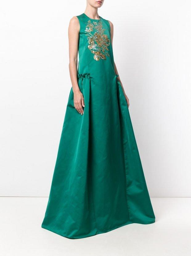 Модные вечерние платья: с декором