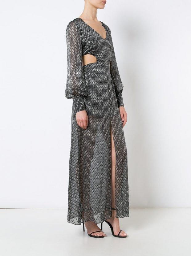 Модные вечерние платья 2020 2021: с принтом