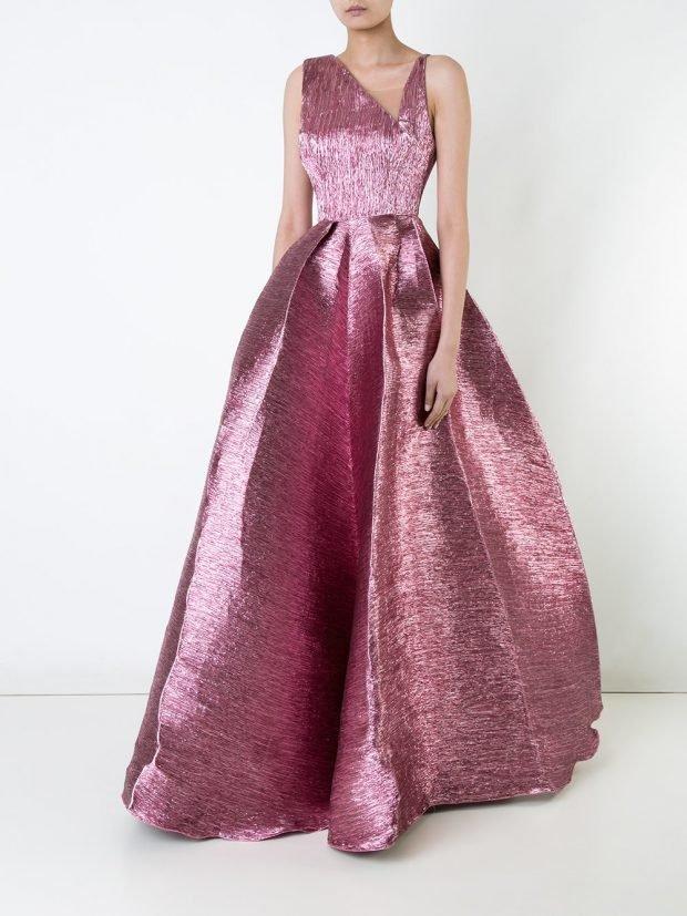 Модные вечерние платья 2020 2021: сиреневое