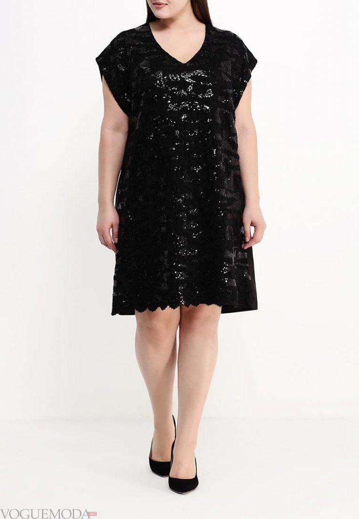 вечернее платье для полных блестящее